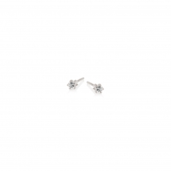 Kolczyki DIAMONDS białe złoto 585 z brylantami
