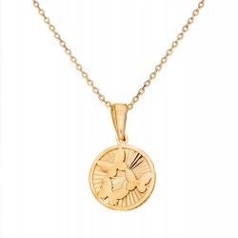 Wisiorek SOFT złoty medalion