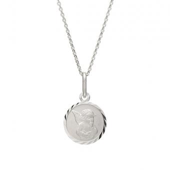 Naszyjnik MINI srebrny z medalikiem