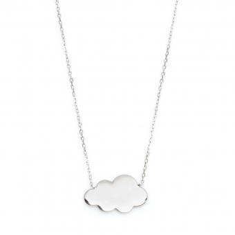 Naszyjnik HOBBY srebrny z chmurką