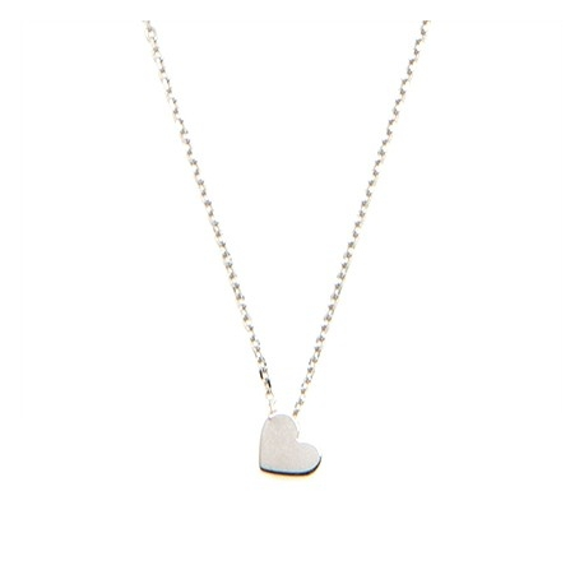 Naszyjnik MINI srebrny z serduszkiem