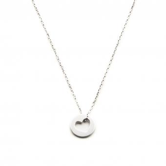Naszyjnik ROMANTICA srebrny z serduszkiem