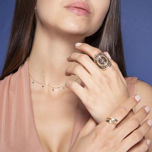 pierścionek BOHO