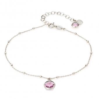 Bransoletka VENUS srebrna z kryształem Swarovskiego