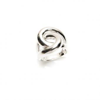 Pierścionek OVAL srebrny