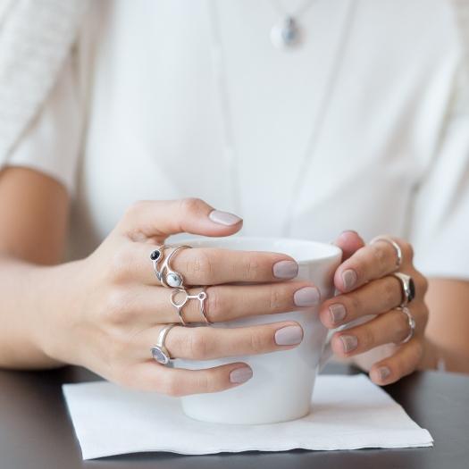 pierścionek DUO