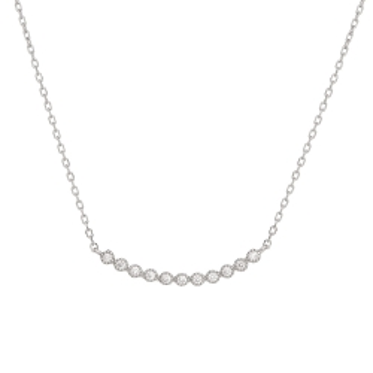 Naszyjnik CEREMONY srebrny z cyrkoniami