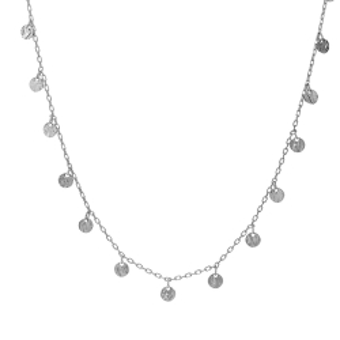 Naszyjnik COSMO srebrny