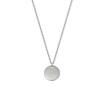 Naszyjnik BELIEVE srebrny z medalionem