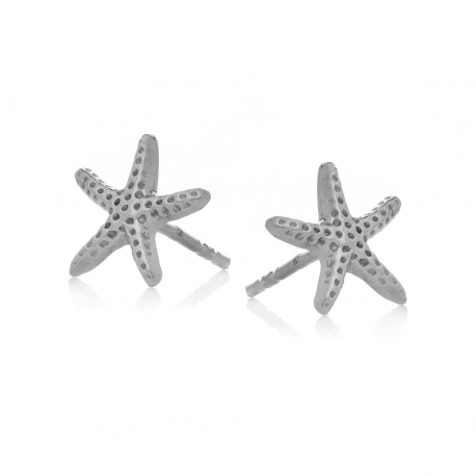 Kolczyki ARIEL srebrne rozgwiazdy