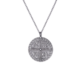 Naszyjnik SKY srebrny amulet