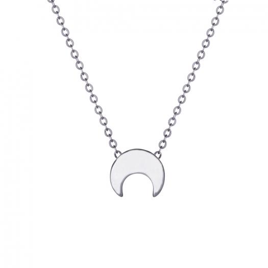 Naszyjnik BELIEVE srebrny z księżycem