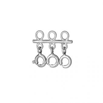 Łącznik do naszyjników srebrny