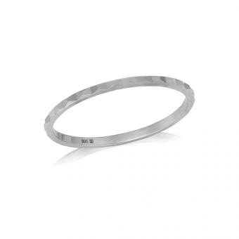 Pierścionek TRENDY srebrny