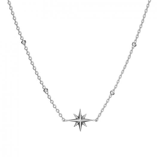 Naszyjnik ASTRO srebrny z gwiazdką
