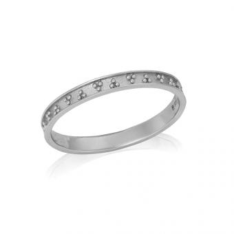 Pierścionek ASTRO srebrny