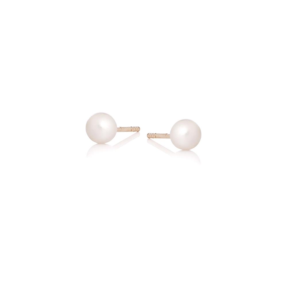 Kolczyki DOLCE VITA złote z perłami
