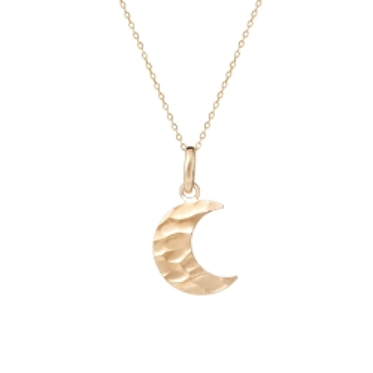 Wisiorek GOLDEN EYE złoty księżyc