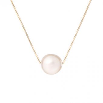 Naszyjnik DOLCE VITA złoty z perłą 1cm