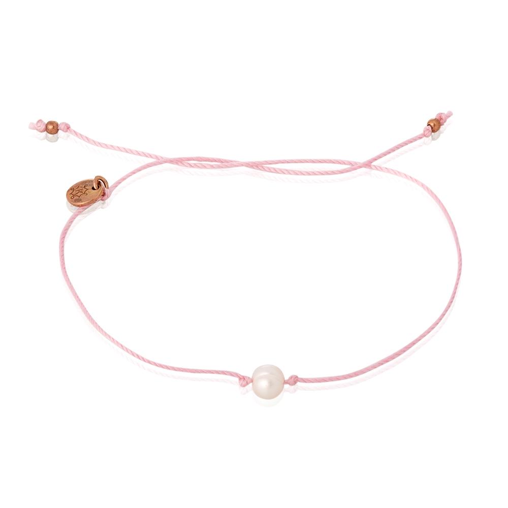 Bransoletka FELICITA z naturalną perłą
