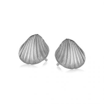 Kolczyki ARIEL srebrne z muszelkami