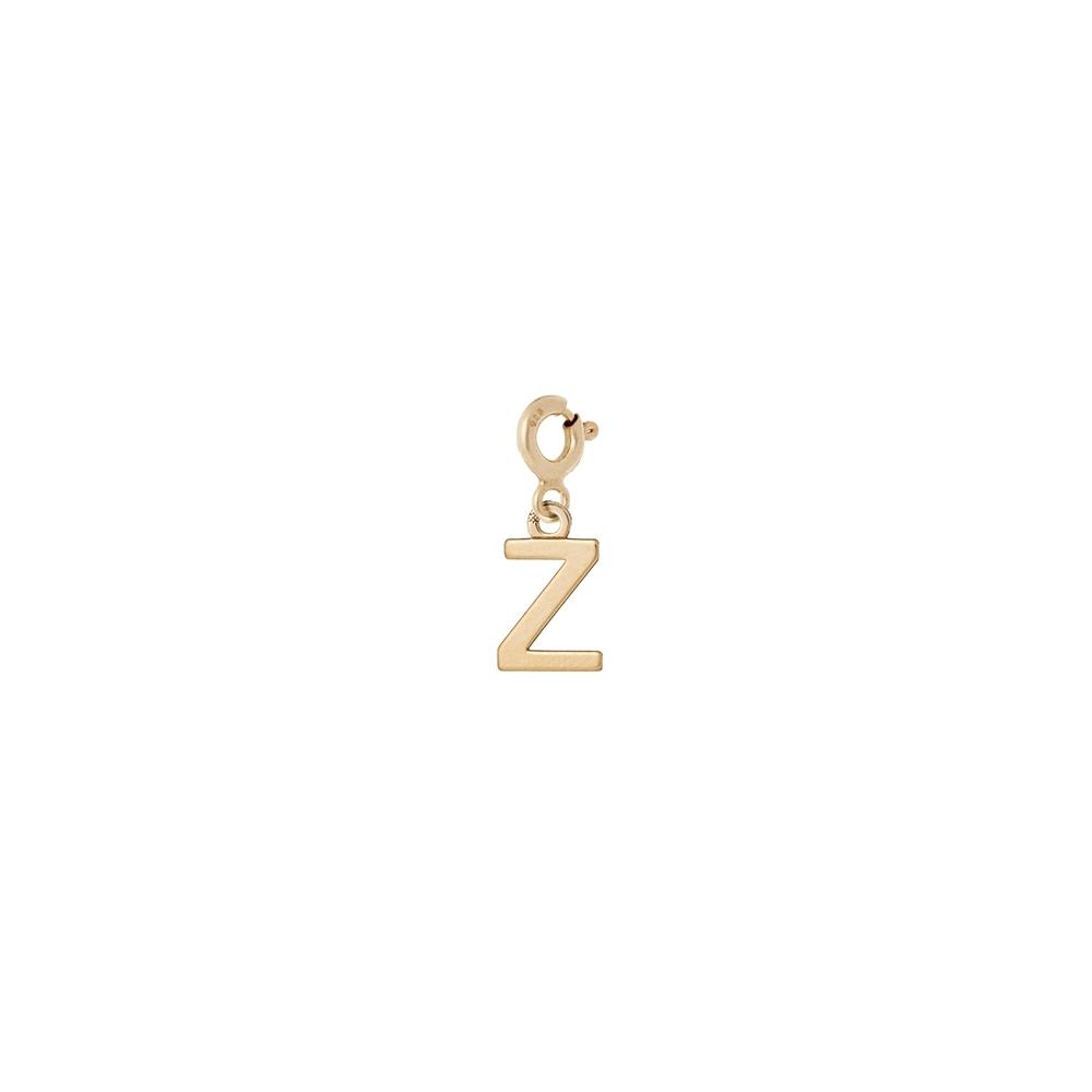 Charms MIX IT srebrny pozłacany z literką Z