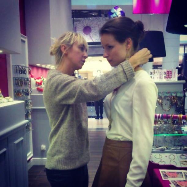Ania Kruk dla Elle