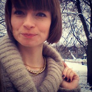 Ania Kruk perły naszyjnik EVENING STAR