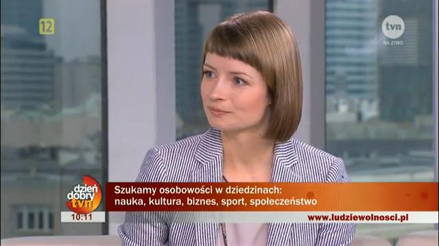 Ania Kruk i Henryka Bochniarz w niedzielnym DDTVN