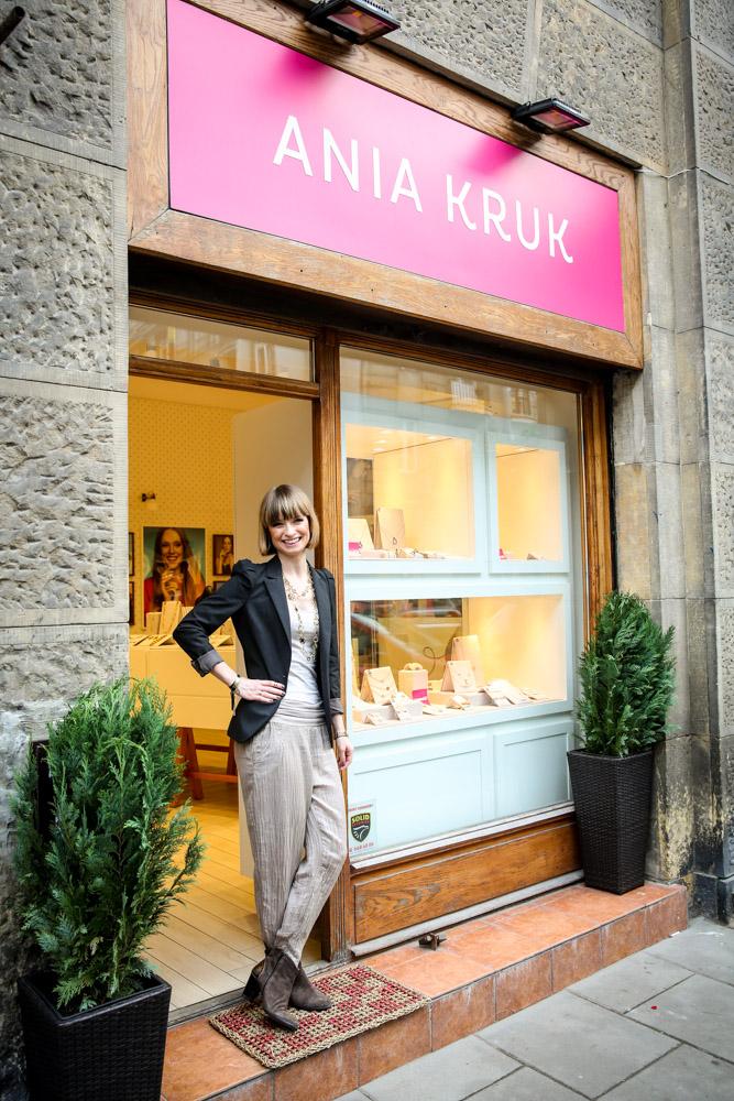 Otwarcie butiku ANIA KRUK na ul.Mokotowskiej