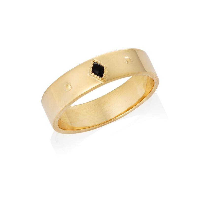 pierścionek typu obrączka