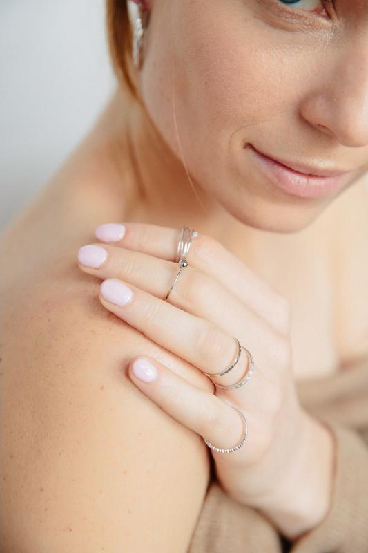 pierścionek sky srebrny